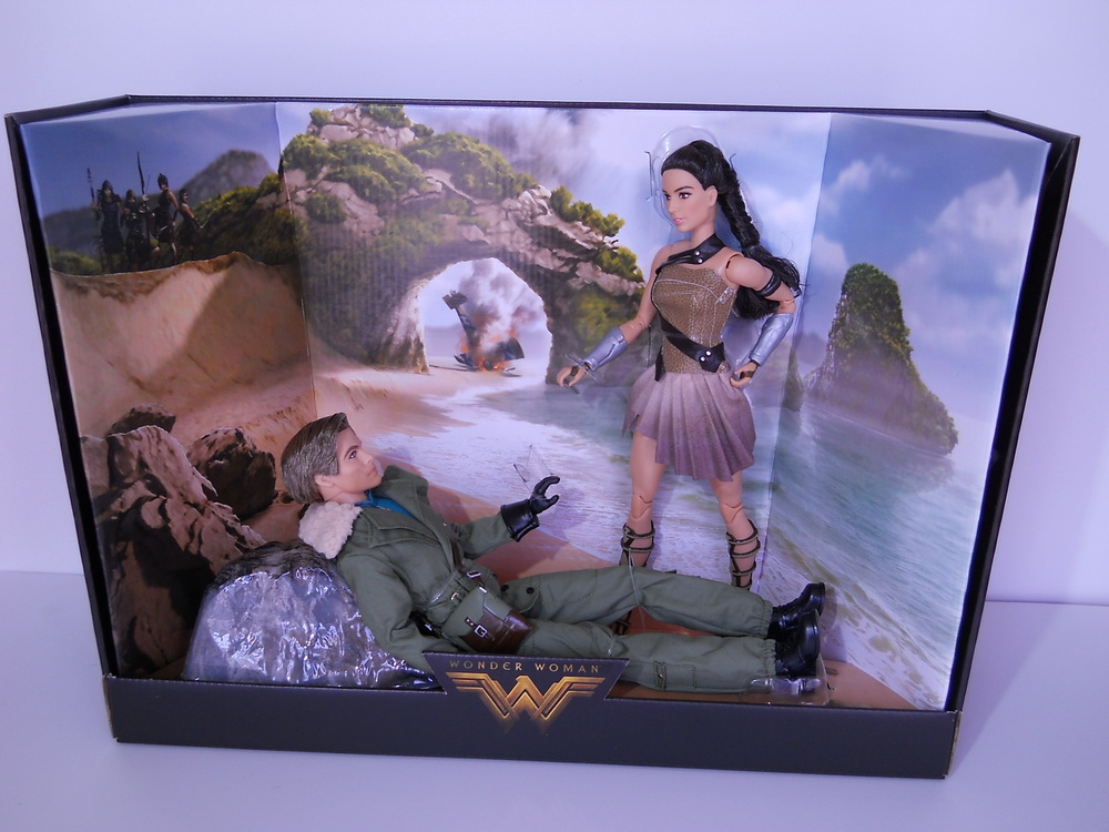 Wonder Woman and Steve Trevor Mattel Doll