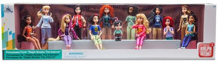Ralph breaks the Internet Disney princess 13-doll set with Vanellope