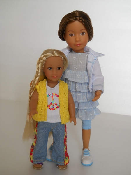 American girl and Kruselings