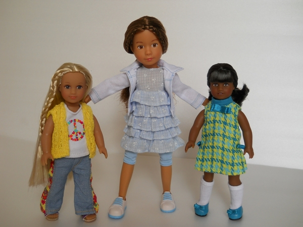 Julie, Melody and Krusekings dolls