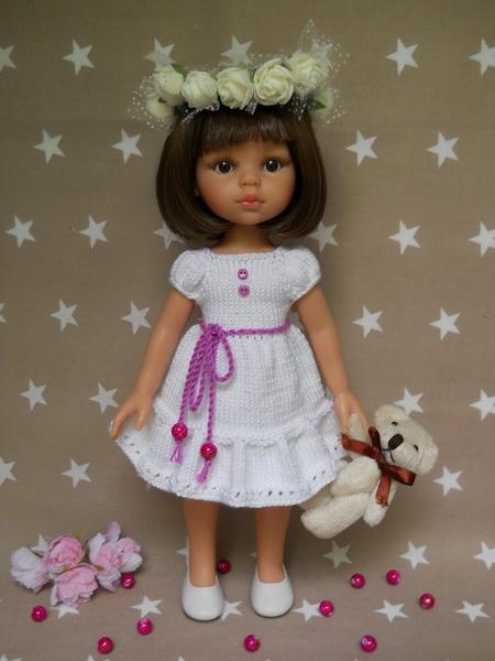 вязание одежды для кукол паола рейна по мк олифенко